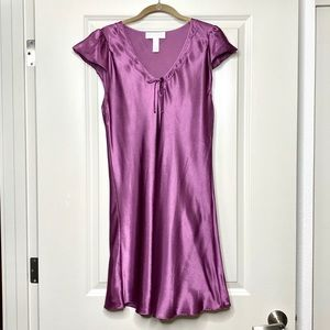 Oscar de la Renta purple night gown size L